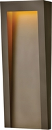 Hinkley 2145TR Taper Contemporary Textured Oil Rubbed Bronze LED Outdoor Lighting Sconce