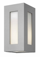 Hinkley 2190TT Dorian Small Titanium Finish Exterior Wall Lighting - 12 Inches Tall