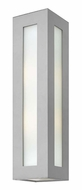 Hinkley 2195TT Dorian Large Titanium Modern 25 Inch Tall Outdoor Wall Sconce