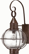 Hinkley 2205SZ Cape Cod 1 Light 26 Inch Outdoor Nautical Wall Sconce in Sienna Bronze