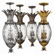 Hinkley 2222 Plantation Tropical Outdoor Hanging Light - 29 inches tall