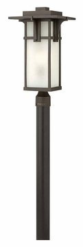 Hinkley 2231OZ Manhattan Oil Rubbed Bronze 21 Inch Tall Outdoor Post Lamp