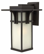 Hinkley 2235OZ Manhattan 18 Inch Tall Oil Rubbed Bronze Outdoor Wall Lighting - Large