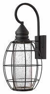 Hinkley 2258BK New Castle 24 Inch Tall Black Nautical Outdoor Wall Light - Extra Large