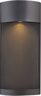 Hinkley 2307BK-LL Aria Modern Black LED Outdoor Wall Lighting Sconce