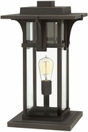 Hinkley 2327OZ-LV Manhattan Contemporary Dark Bronze / Light Bronze LED Outdoor Pier Mount