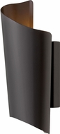 Hinkley 2350SK Surf Contemporary Satin Black LED Exterior Small Wall Light Sconce