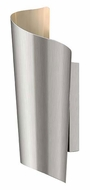 Hinkley 2350SS Surf Outdoor Stainless Steel 15 Inch Tall Wall Light Sconce - Small