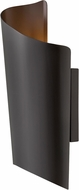Hinkley 2354SK Surf Contemporary Satin Black LED Exterior Medium Wall Light Sconce