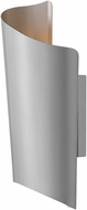 Hinkley 2354TT Surf Modern Titanium LED Outdoor Medium Wall Sconce Light
