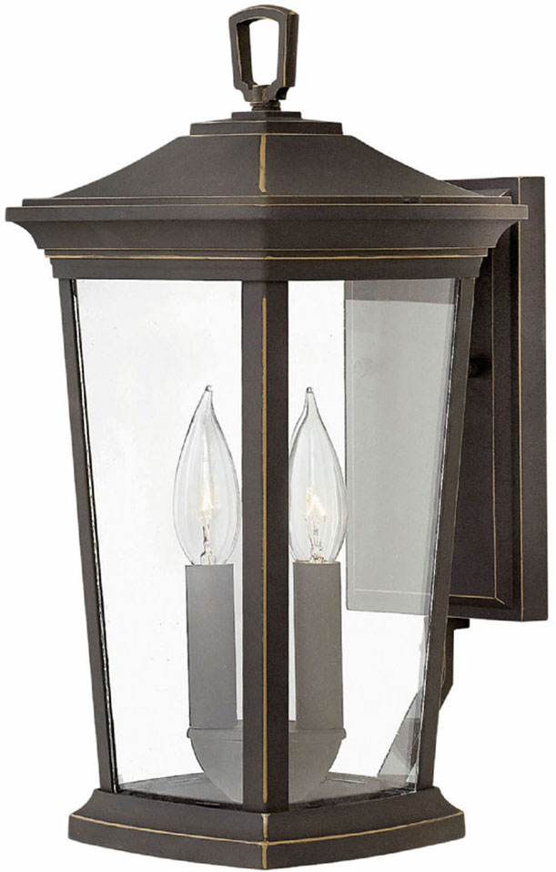 Hinkley 2360oz Bromley Oil Rubbed Bronze Exterior Wall Mounted Lamp Hin 2360oz