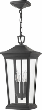 Hinkley 2362MB Bromley Museum Black Exterior Ceiling Light Pendant