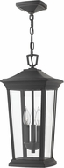 Hinkley 2362MB-LL Bromley Museum Black LED Outdoor Hanging Pendant Lighting