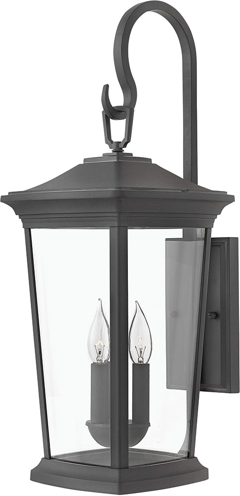 Hinkley 2366mb Bromley Museum Black Outdoor Lighting Sconce Loading Zoom