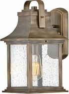 Hinkley 2390BU Grant Traditional Burnished Bronze Exterior Wall Light Fixture