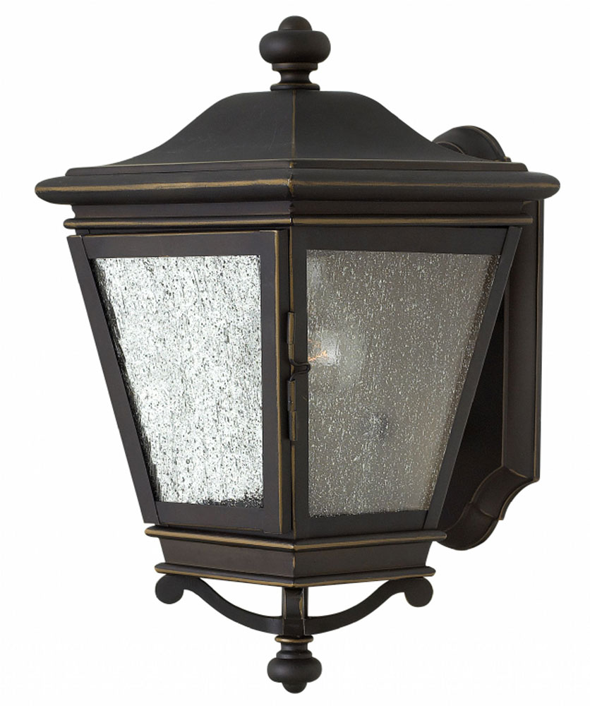 Hinkley 2460oz Lincoln Oil Rubbed Bronze Exterior Lighting Sconce