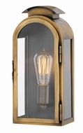 Hinkley 2520LS Rowley Light Antique Brass Exterior Small Wall Sconce