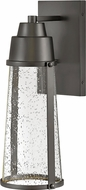 Hinkley 2554BK Miles Contemporary Black LED Exterior Wall Sconce Light