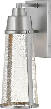 Hinkley 2554SI Miles Satin Nickel LED Outdoor Wall Light Sconce