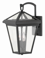 Hinkley 2560MB Alford Place Museum Black Outdoor Small Sconce Lighting