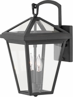 Hinkley 2560MB-LL Alford Place Museum Black LED Outdoor 14 Wall Sconce