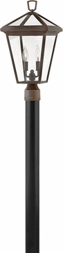 Hinkley 2561OZ Alford Place Oil Rubbed Bronze Outdoor Post Lighting Fixture