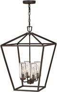 Hinkley 2567OZ-LL Alford Place Modern Oil Rubbed Bronze LED Outdoor Hanging Light