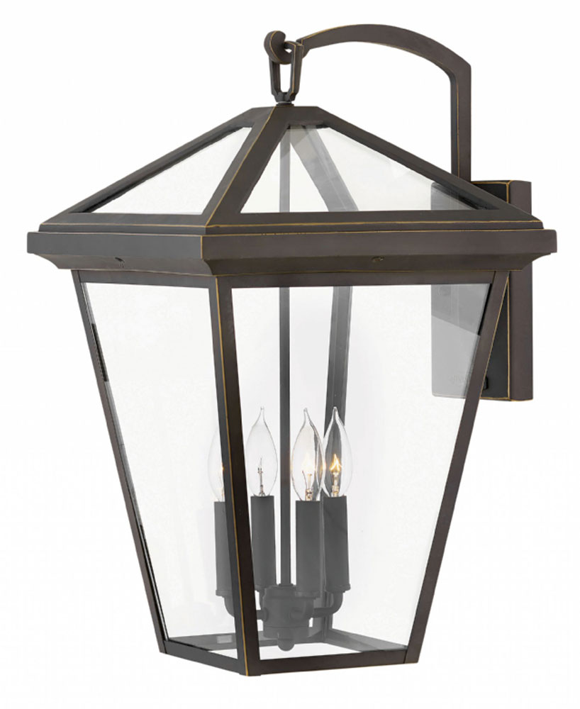 Hinkley 2568oz Alford Place Oil Rubbed Bronze Outdoor Extra Large Wall Sconce Lighting
