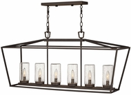 Hinkley 2569OZ-LL Alford Place Contemporary Oil Rubbed Bronze LED Outdoor Island Light Fixture