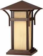 Hinkley 2576AR-LV Harbor Contemporary Light Bronze LED Exterior Pier Mount