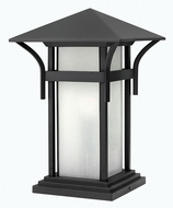 Hinkley 2576SK-LED Harbor Satin Black LED Outdoor Pier Mount