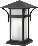 Hinkley 2576SK-LV Harbor Contemporary Black LED Outdoor Pier Mount