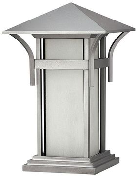 Hinkley 2576TT-LED Harbor Titanium LED Outdoor Pier Mount