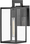 Hinkley 2590BK Max Modern Black Exterior Lighting Sconce