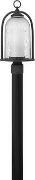 Hinkley 2611DZ-LED Quincy Contemporary Aged Zinc LED Outdoor Post Light Fixture