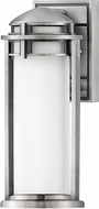 Hinkley 2670AL Annapolis Contemporary Antique Brushed Aluminum Exterior 14 Wall Light Sconce