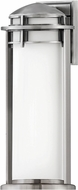 Hinkley 2674AL Annapolis Contemporary Antique Brushed Aluminum Exterior 20 Wall Light Sconce