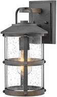 Hinkley 2680DZ-LL Lakehouse Aged Zinc LED Outdoor Sconce Lighting