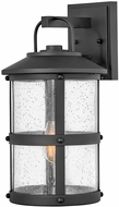 Hinkley 2684BK Lakehouse Traditional Black Outdoor Lighting Wall Sconce