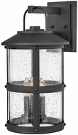 Hinkley 2685BK Lakehouse Traditional Black Exterior Wall Lighting Sconce