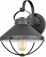 Hinkley 2690BK Crew Coastal Black Outdoor Wall Sconce Lighting