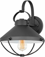 Hinkley 2694BK Crew Coastal Black Exterior Wall Mounted Lamp