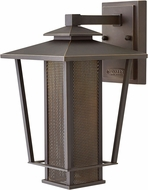Hinkley 2745OZ Theo Oil Rubbed Bronze LED Exterior Large Wall Light Sconce