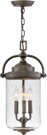 Hinkley 2752OZ Willoughby Modern Oil Rubbed Bronze Outdoor Ceiling Pendant Light