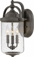 Hinkley 2755OZ Willoughby Modern Oil Rubbed Bronze Outdoor 19 Lighting Sconce