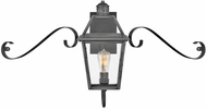 Hinkley 2770BLB-SCR Nouvelle Traditional Blackened Brass Exterior Wall Lamp