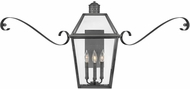 Hinkley 2774BLB-SCR Nouvelle Traditional Blackened Brass Exterior Sconce Lighting