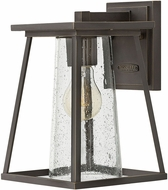 Hinkley 2790OZ-CL Burke Contemporary Oil Rubbed Bronze Exterior Small Wall Sconce