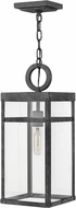 Hinkley 2802DZ Porter Aged Zinc Outdoor Lighting Pendant