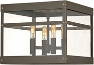 Hinkley 2803OZ Porter Contemporary Oil Rubbed Bronze Exterior Ceiling Lighting Fixture